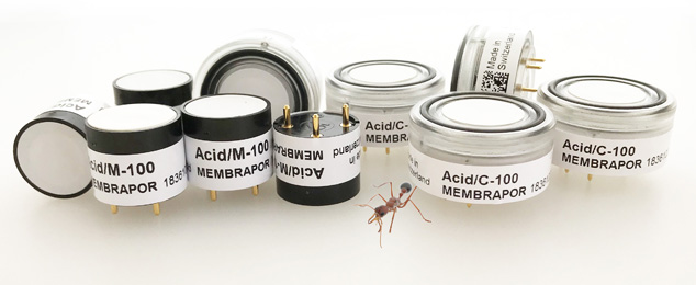 New Sensors for Acids
